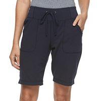 Petite Tek Gear® Knit Bermuda Shorts
