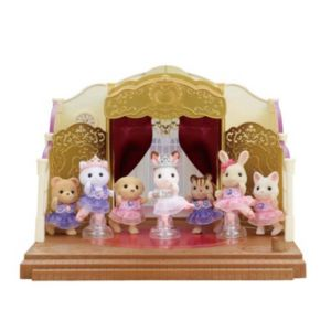 Calico Critters Ballet Theater Set