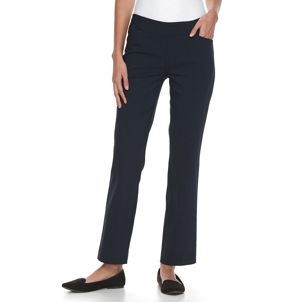 Petite Apt. 9® Millennium Straight-Leg Pants