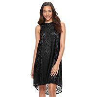 Women's Apt. 9® Lace High-Low Shift Dress