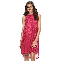 Women's Apt. 9® Lace High-Low Shift Dress