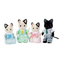 Calico Critters Tuxedo Cat Family Set