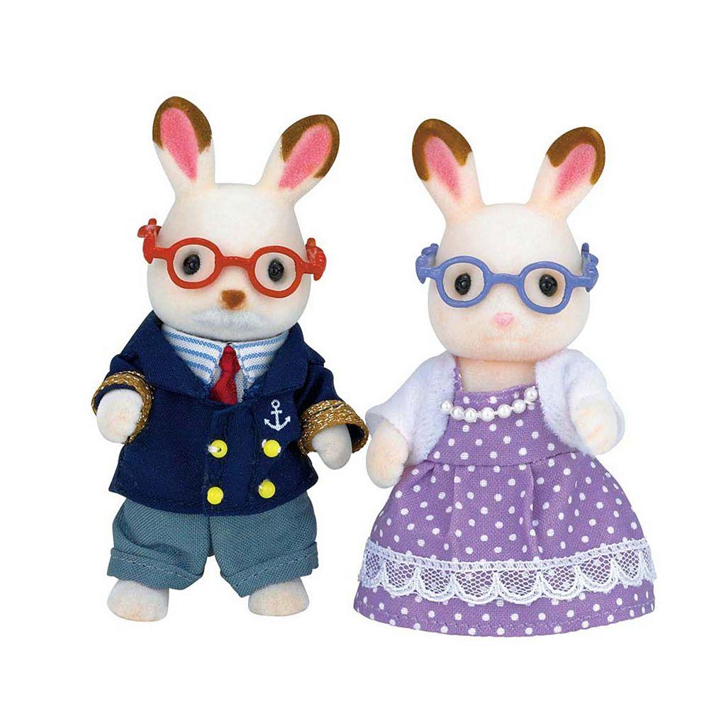 Calico Critters Hopscotch Rabbit Grandparents Set