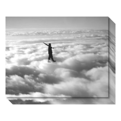 Walks on the Clouds Canvas Wall Art