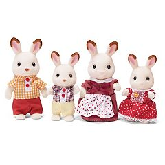 Calico Critters Hopscotch Rabbit Family Set