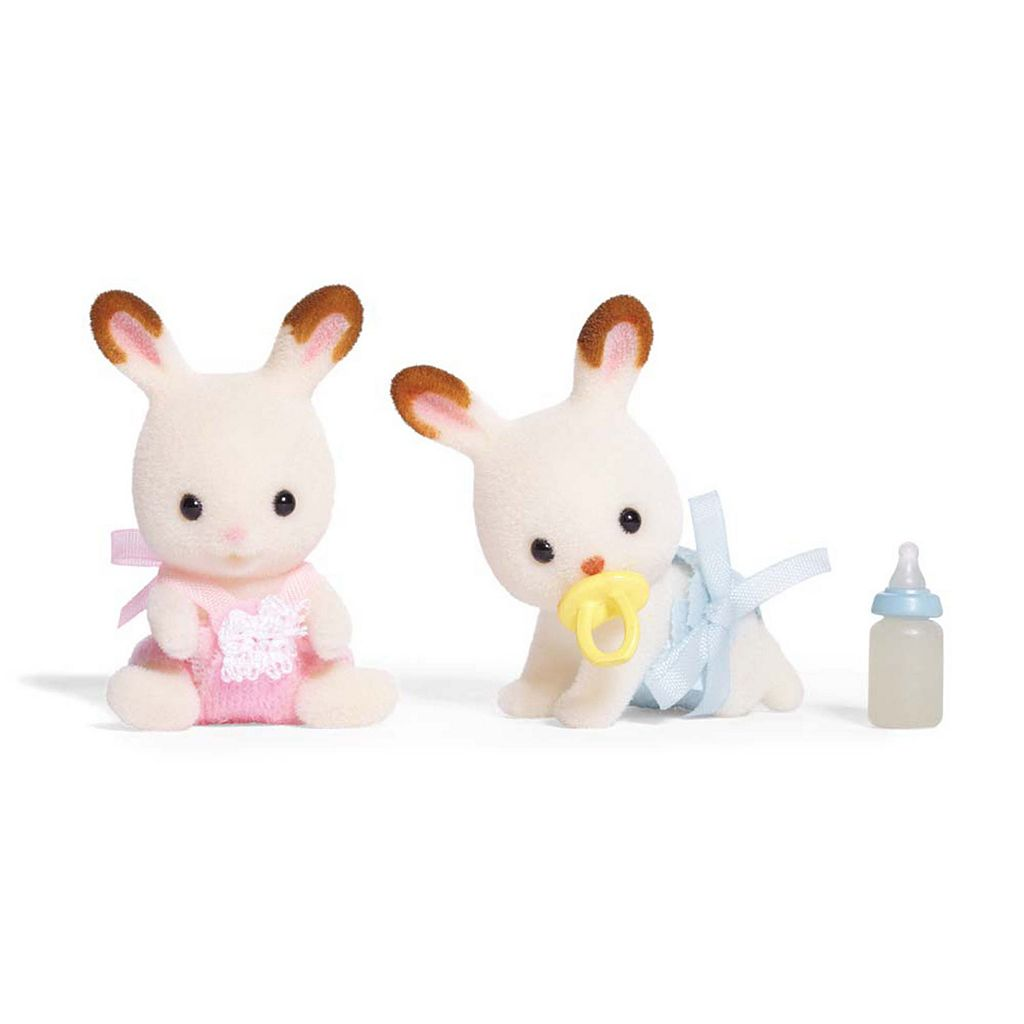 Calico Critters Hopscotch Rabbit Twins Set