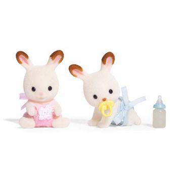 Calico Critters Hopscotch Rabbit Twins Set