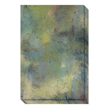 Blue and Green Musings I Canvas Wall Art