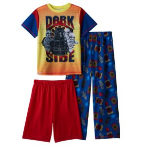 Boys 4-10 LEGO Star Wars Dark Side 3-Piece Pajama Set
