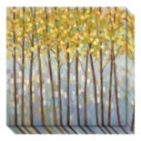 Glistening Tree Tops Canvas Wall Art