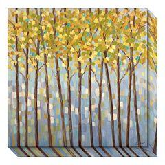 Glistening Tree Tops Canvas Wall Art