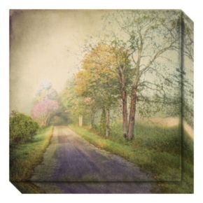 Sweet Road Canvas Wall Art
