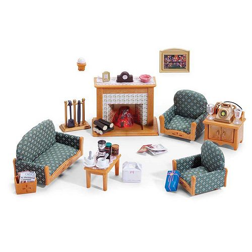 Calico Critters Living Room Accessories Set