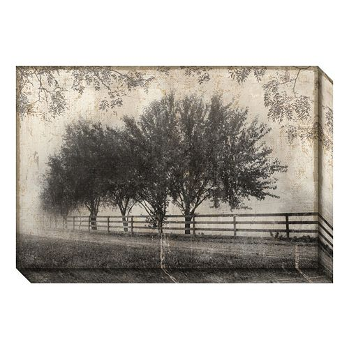 Morning Shades I: Countryside Canvas Wall Art