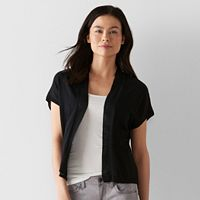Petite SONOMA Goods for Life™ Solid Cardigan