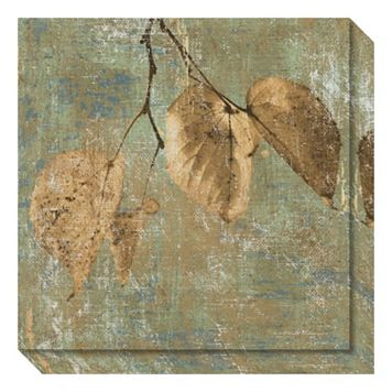Country Escape II: Leaves Canvas Wall Art