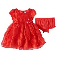 Baby Girl Nannette Tiered Petal Dress