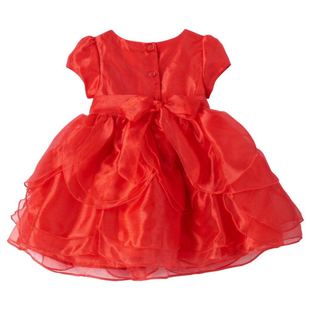 Baby Girl Nannette Tiered Petal Dress