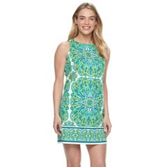 Petite Suite 7 Medallion Shift Dress