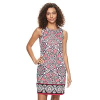 Petite Suite 7 Medallion Sheath Dress