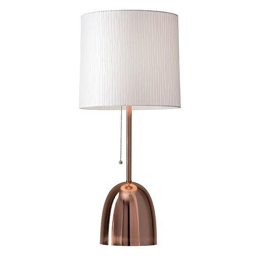 Adesso Lola Copper Finish Table Lamp