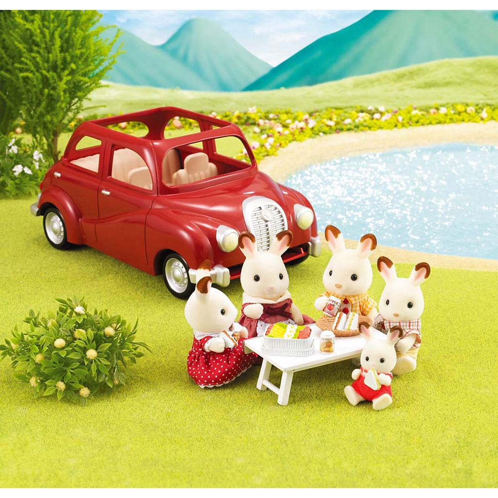 Calico Critters Cherry Cruiser Set