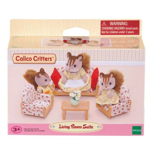 Calico Critters Living Room Suite Set