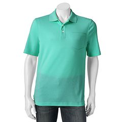Big & Tall Croft & Barrow® Signature Pocket Polo