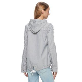 Juniors' SO® Hooded Field Jacket