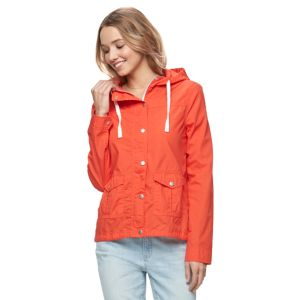 Juniors' SO® Hooded Field Jacket
