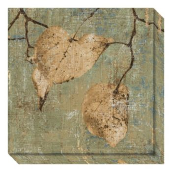 Country Escape I: Leaves Canvas Wall Art