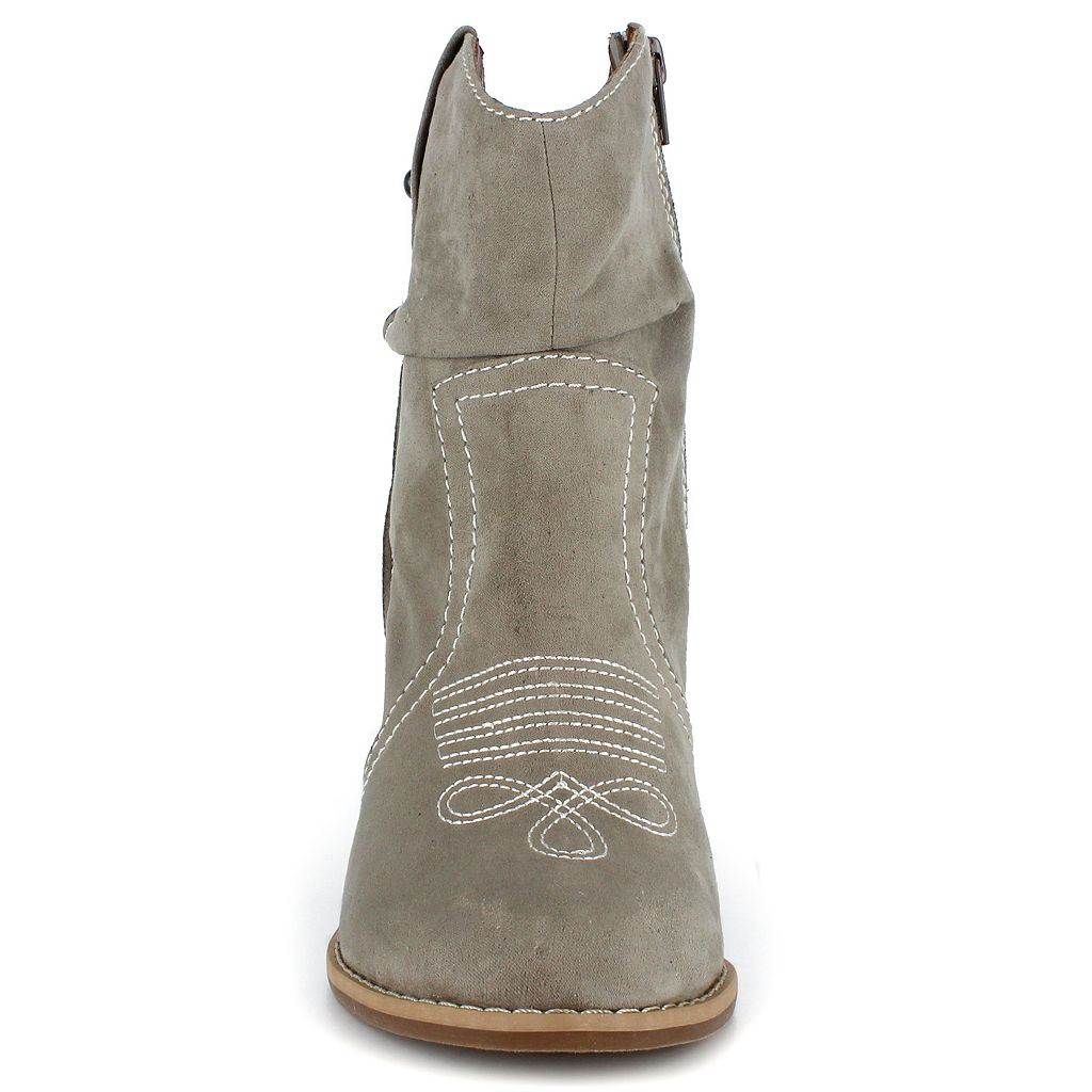 Dolce by Mojo Moxy Menzie Women's Western Ankle Boots