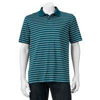 Big & Tall Croft & Barrow® Cool & Dry Striped Polo