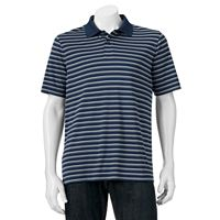Big & Tall Croft & Barrow® Cool & Dry Striped Polo
