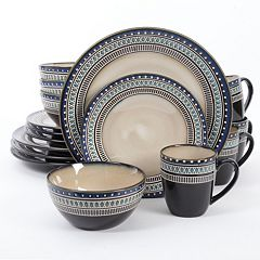 Gibson Elite Magello 16 pc Round Dinnerware Set