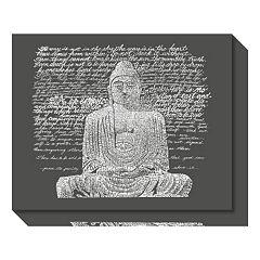 Zen Buddha Sayings Canvas Wall Art