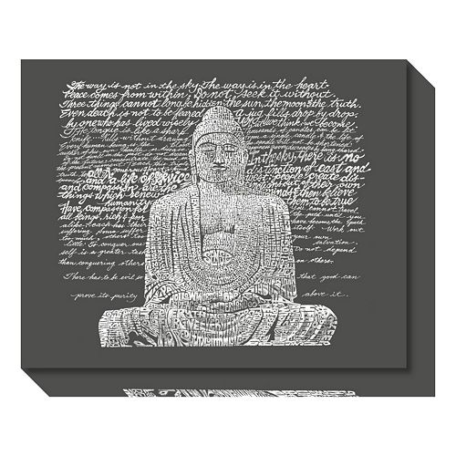 Zen Buddha Sayings Canvas Wall Art