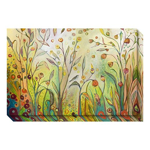 Welcome To My Garden Canvas Wall Art