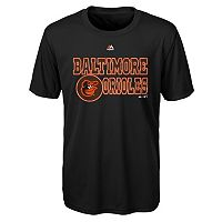 Boys 4-7 Majestic Baltimore Orioles Show Time Tee