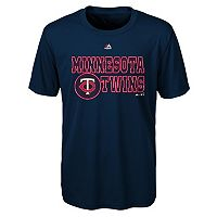 Boys 4-7 Majestic Minnesota Twins Show Time Tee