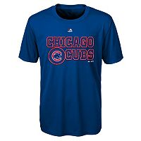 Boys 4-7 Majestic Chicago Cubs Show Time Tee