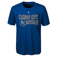 Boys 4-7 Majestic Kansas City Royals Show Time Tee