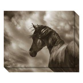 Amanti Art The Renegade Horse Canvas Wall Art
