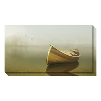 Amanti Art Alone in the Mist II Canvas Wall Art