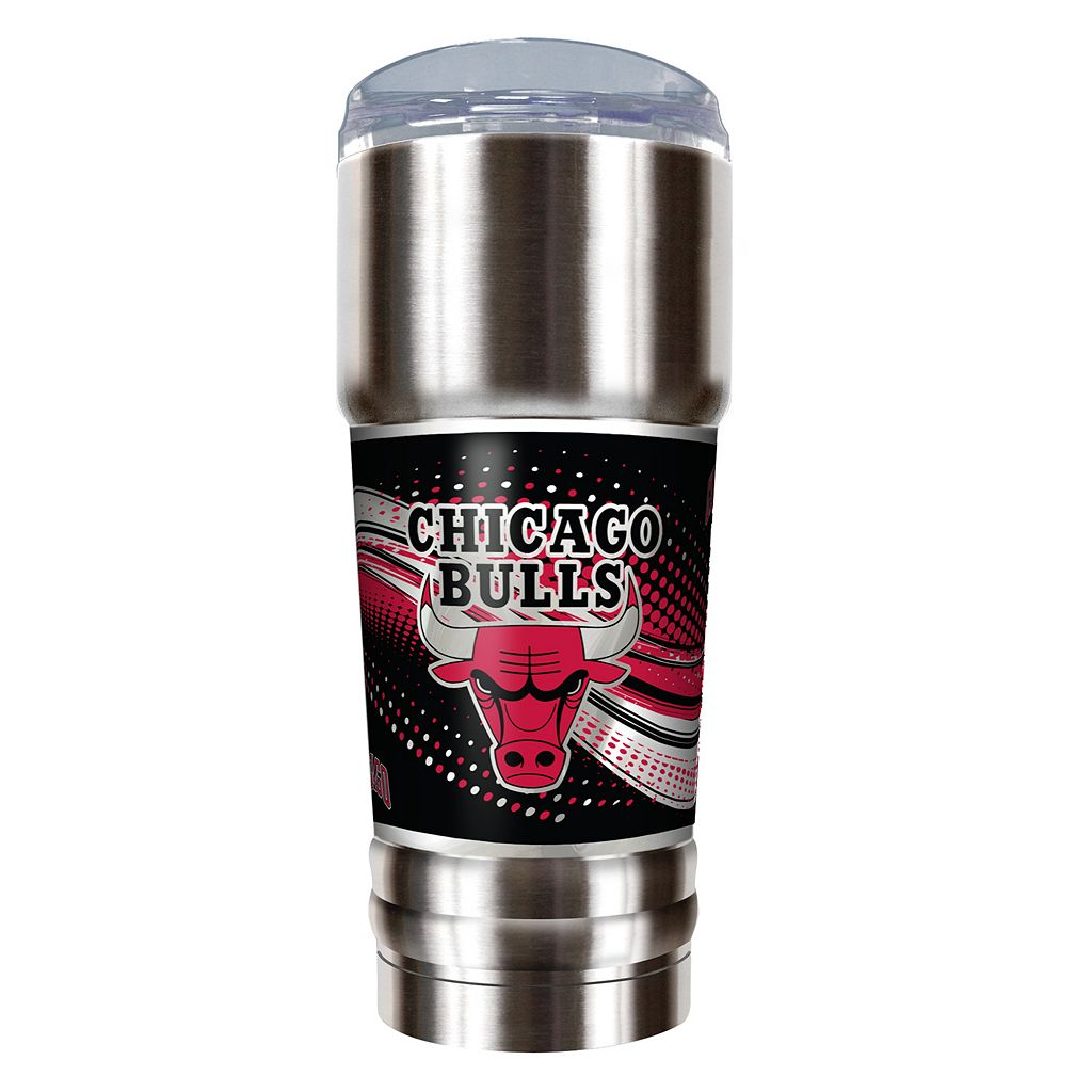 Chicago Bulls 32-Ounce Pro Stainless Steel Tumbler
