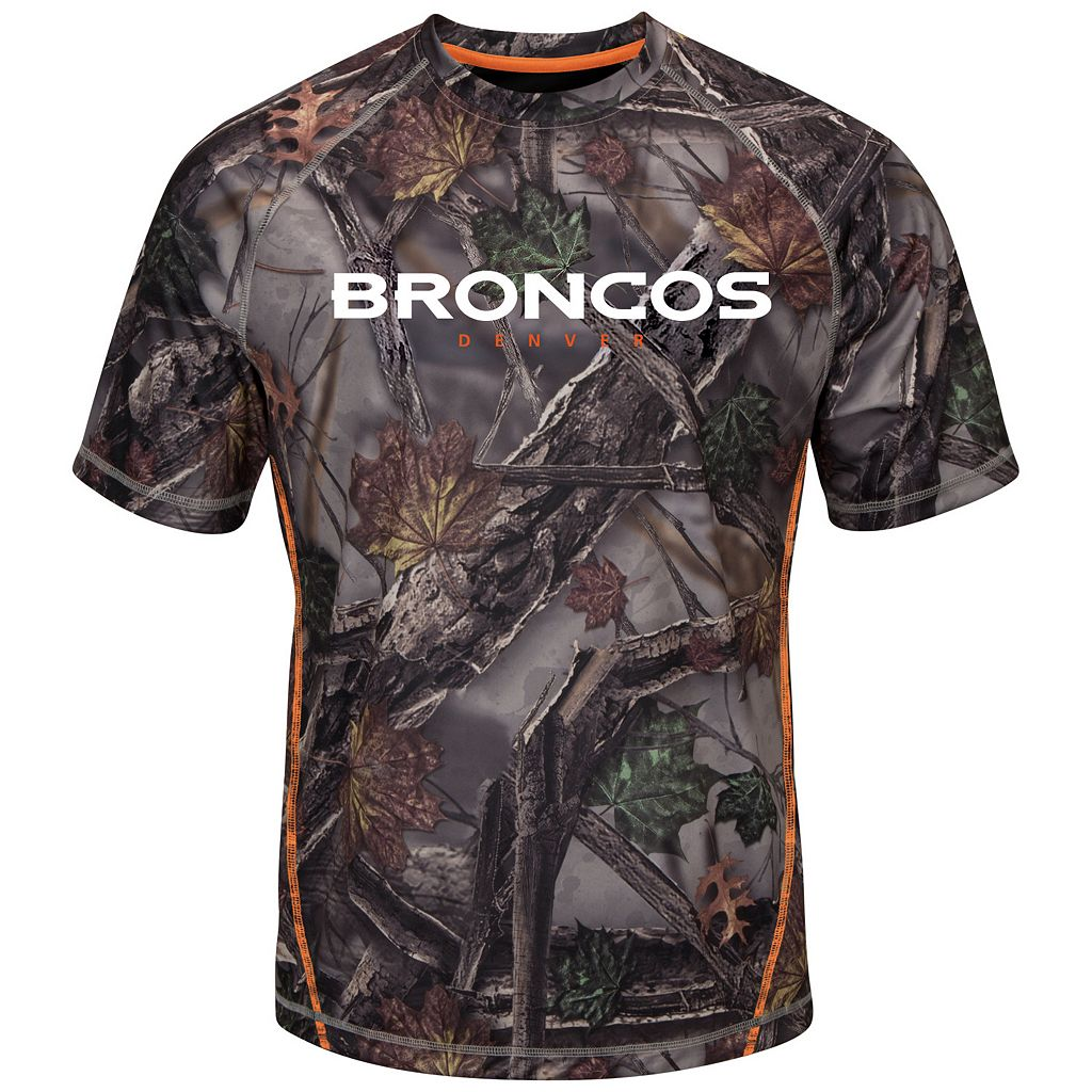 Big & Tall Majestic Denver Broncos The Woods Camo Tee