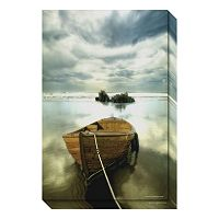 Amanti Art The Old Boat Canvas Wall Art