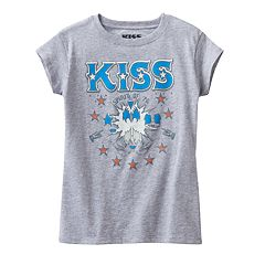 Girls 4-7 Kiss 'Spirit of '76' Tee