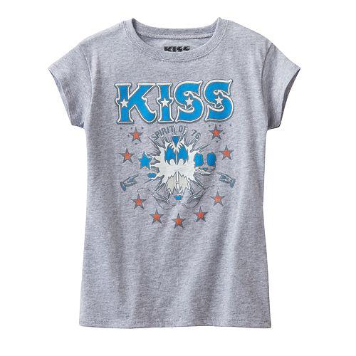Girls 4-7 Kiss