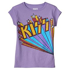 Girls 4-6x Kiss Graphic Tee
